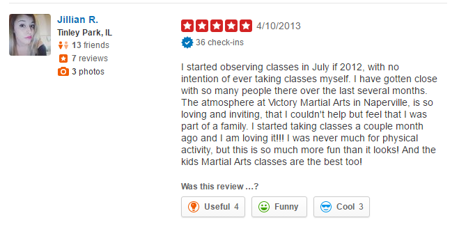 Napervile Kick boxing review